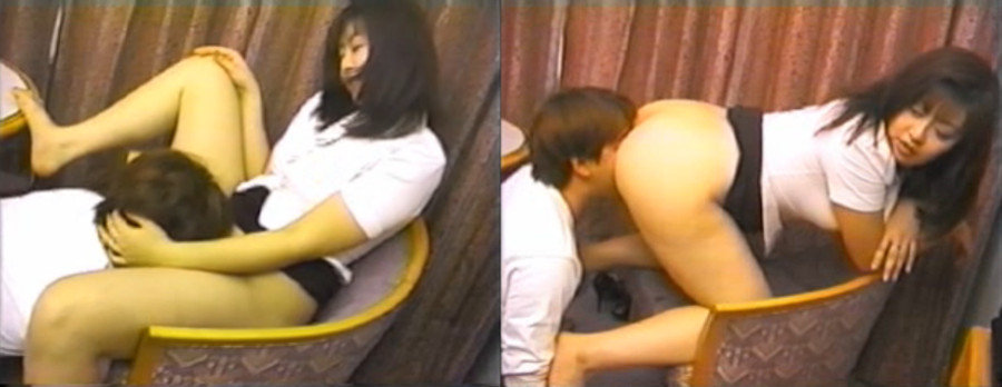アナルとマンコをじっくり舐め奉仕される美S熟女 キャプ