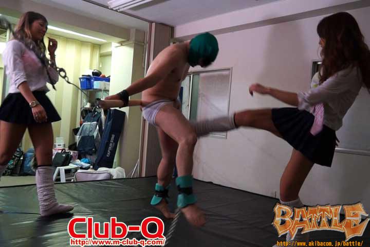 """本気で""""男""""ボコします236 CLUB-Q BO236"""