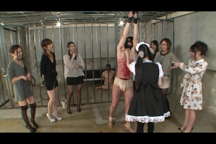 家畜便器募集中!!春の嬢王育成講座 最終課程~豚便器個別使用