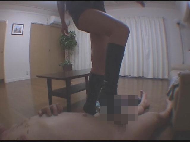 セカンドフェイス非公開映像14 長身美女に自慰行為を嘲笑われあげくの果てに踏みにじられる屈辱!