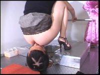 人間トイレットペーパー ウンコがついたアナルを舐めて掃除するM男まとめ PART.2