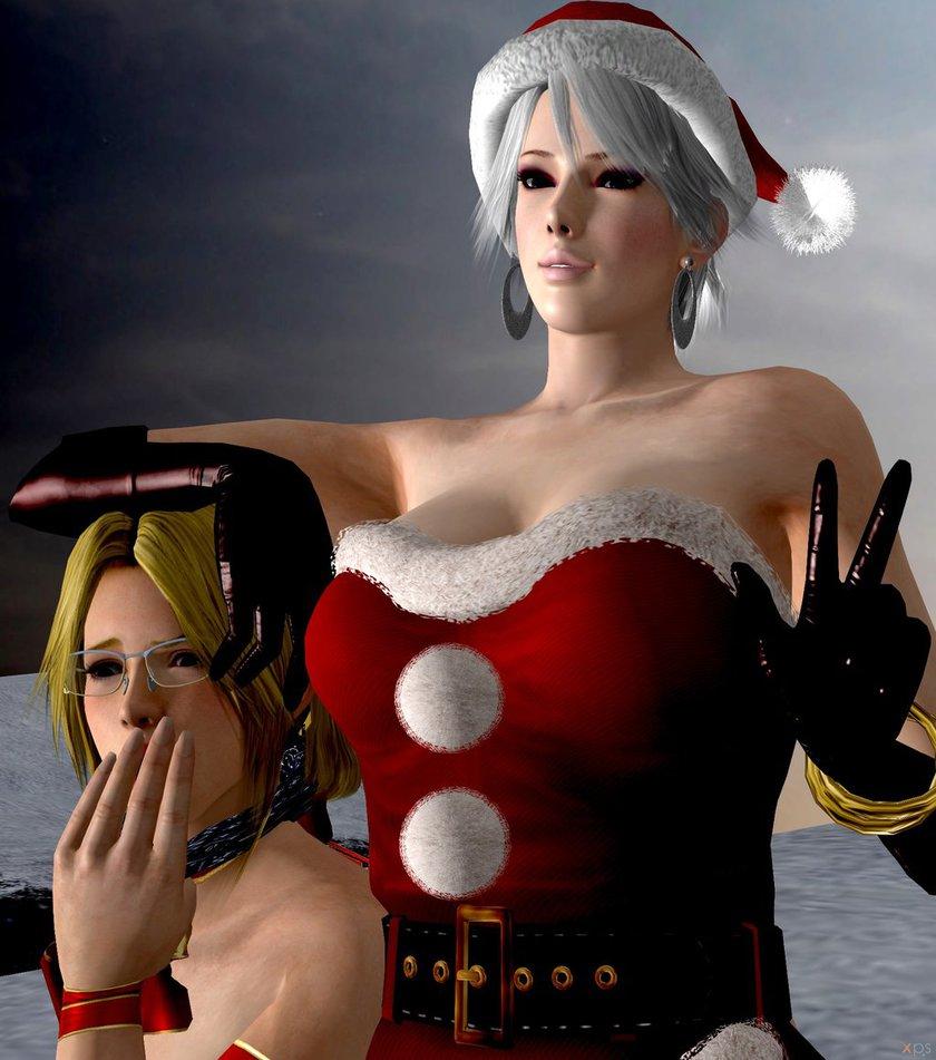 【海外二次】クリスマスのレズSM調教