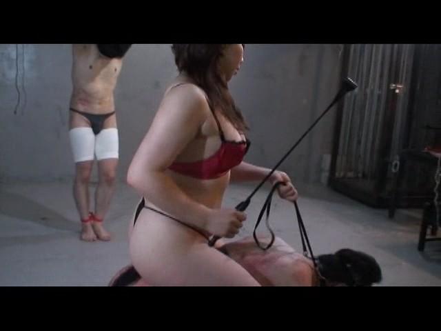 9人の女性騎手達 残虐の人間馬調教3