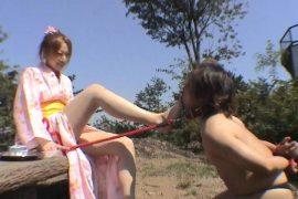 浴衣美人令嬢物語 ザ家畜人調教 お嬢様、下男奴隷を飼う