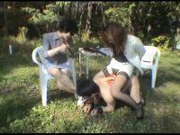 美人姉妹のヒューマンドッグ 愉悦の野外・家畜調教