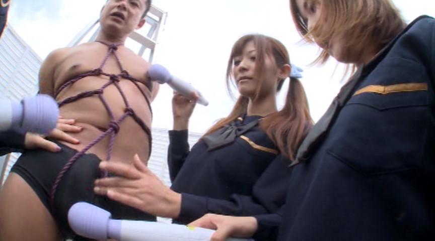 S痴女 JK空中悶絶M男射精責め ヤリ過ぎセメ過ぎ!! BYD-112