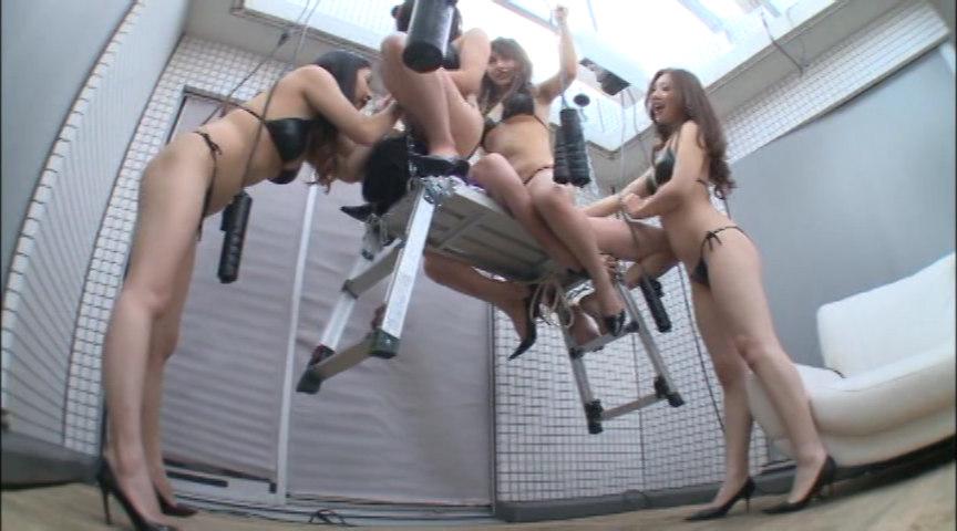 モデル系お姉さん4人組みの人体射精実験 公開実験+実録映像 BYD-121
