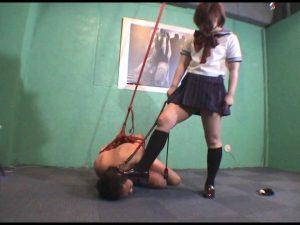 セーラー服の逆襲 女子校生の人間馬調教