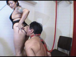 女性専用便器 屈辱の尻舐め・便器奴隷 FKD-15