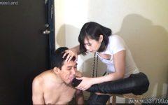 家事奴隷マゾ夫と貞操帯で射精管理する浮気妻の夫婦生活 茜