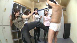 OL生金蹴り!2 密室ニーハイブーツ蹴撃リンチ!! KKK-018