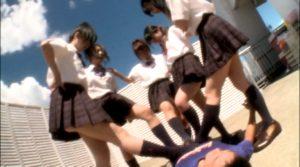 真夏のJK!集団女子臭足虐め!! KKK-025
