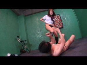 スケバン女子校生残虐の奴隷拷問狩り FKD-48