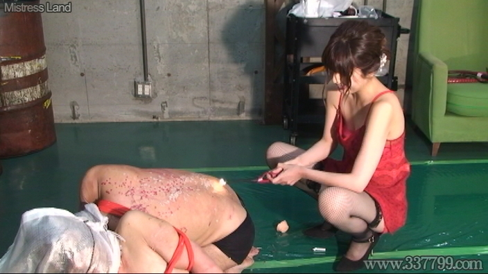 先行配信動画:サド女研究者のマゾ男人体実験 2
