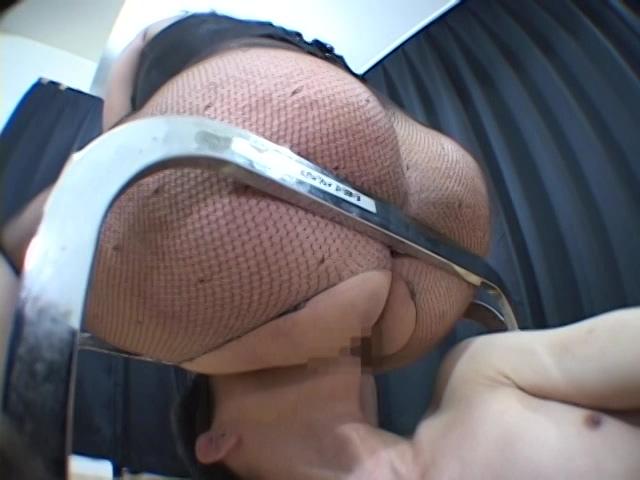 スペルマ強奪!顔騎仮面