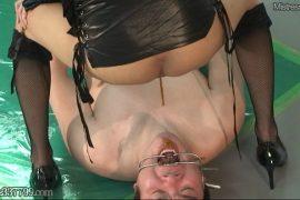 先行配信動画:貞操帯で射精管理されCBT調教されるマゾ男 3