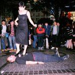 素人美女に踏まれて靴舐め掃除するマゾ男 2 @踏まれルーちゃん
