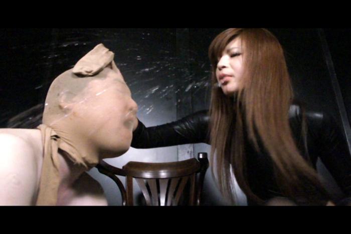 高身長美女女王M男逆レイプ 菊川里菜