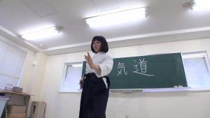 彩技絢爛!あおい先生のM格闘合気術!!