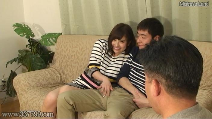寝取られマゾ夫に浮気を見せつけあざ笑う妻 早川瑞希 画像 14
