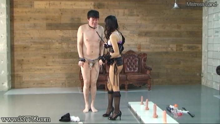 貞操帯で射精管理されCBT調教されるマゾ男 楓(かえで) 画像 10