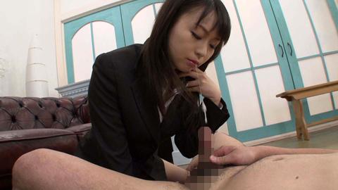 女性人事部長のアナル舐め面接 羽月希 05