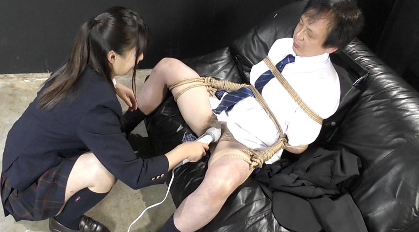強制飲尿M男虐待 M男、パイパンの刑! 画像 02