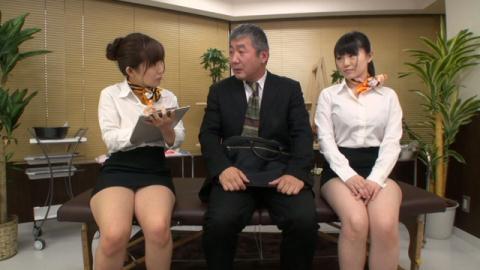 美泉咲・瑞乃ありさのM男アナル快楽エステ 01