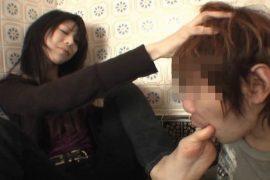 ララと浴室飼い奴隷の激クサ変態プレイ