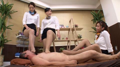 M男専門美脚マッサージ店 Featuring 松すみれ、野口まりや、新山かえで 02