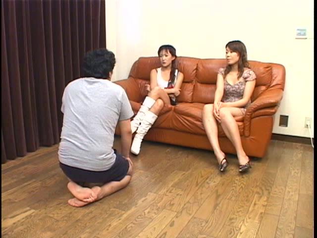社内体罰、身長優位なS嬢王 W調教 ミュウ 門倉麻美 画像 01