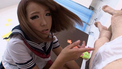 女子校生やりすぎ足踏みマッサージサロン 杏紅茶々 画像 04
