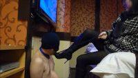 黒ブーツドSお姉さまによる踏み付けM男いじめ 画像 07