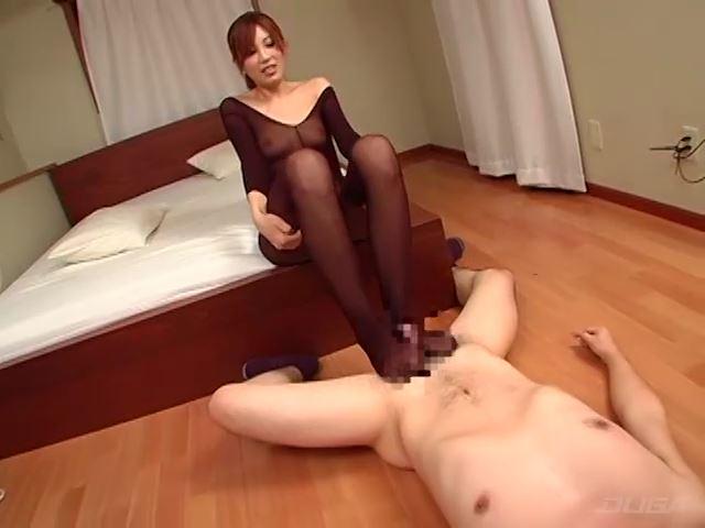 高身長女子のM男いじり 女教師編 三浦加奈 画像 03