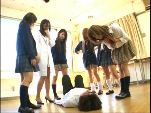 フリーダム学園校内集団暴行 ~女子6人よる集団リンチ~