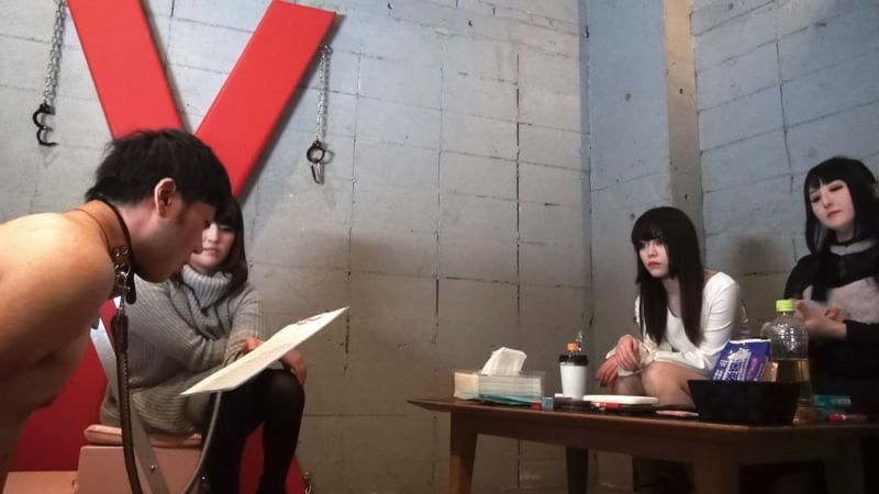 ヤプーへの扉 平成最終章 新人嬢王様IRIAの家畜人面接調教レッスン 撮影画像 32