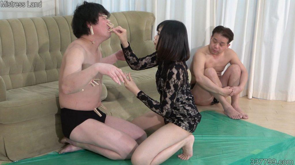 浮気マゾ男とのプレイを見せつけられる寝取られマゾ彼氏 茜 1-2 画像 02