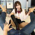 女子●生 あやと只今同棲中◆制服&ブーツコスでヤリたい放題中出しSEX VR画像 04