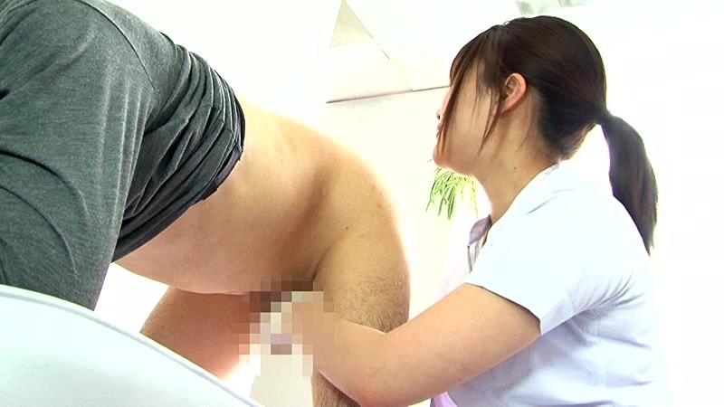 痴女歯科衛生士のゴム手袋手コキマゾ射精CLEANING! 画像 02