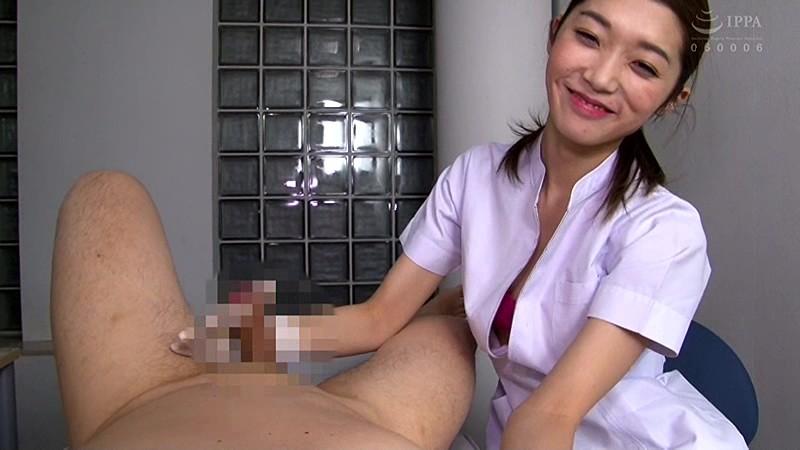痴女歯科衛生士のゴム手袋手コキマゾ射精CLEANING! 画像 07