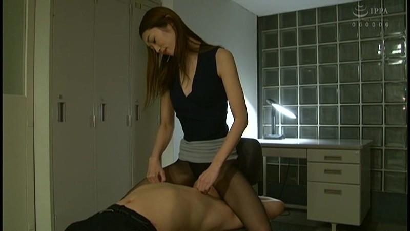 彼女の男犯 美脚同僚OLとの男女逆転セックス 香苗レノン