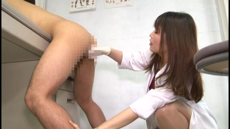 M男がみんな夢中になる保健室のアナル責め先生 新村あかり