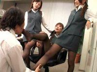 美脚太腿絞め 美女達のBeautiful leg 圧迫