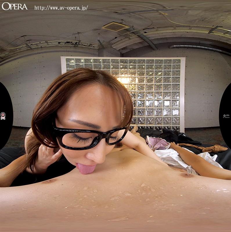 【VR】VR版 小便ヘビ舌責めM男調教 枢木みかん