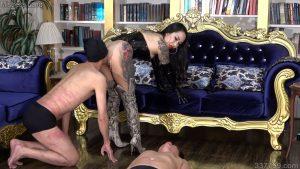 妖湖女王様の飼育奴隷精子黄金完食調教 3
